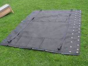 trampoline en mesh pour catamaran mystère 6.0