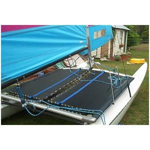 Trampoline mesh pour catamaran